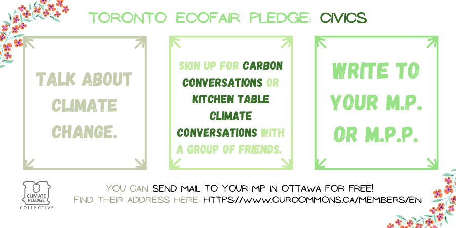 EcoFair pledge civics 6