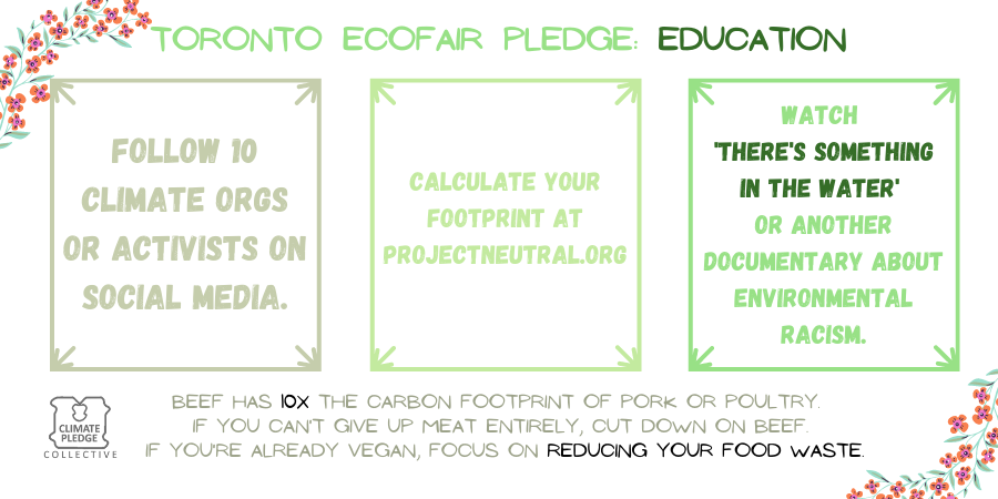 EcoFair pledge education 5