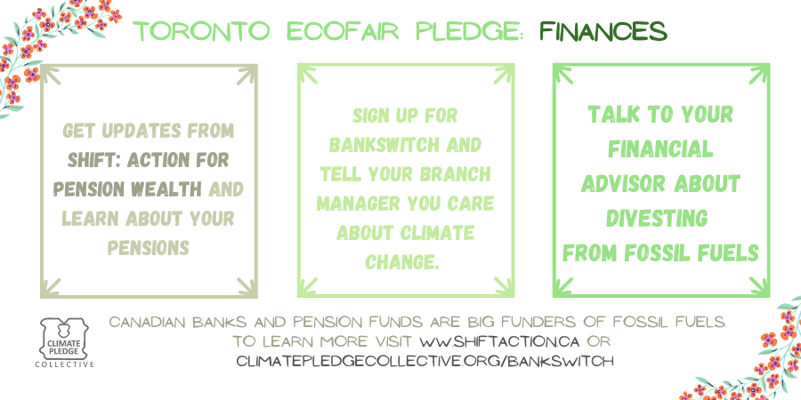 EcoFair pledge finances 7