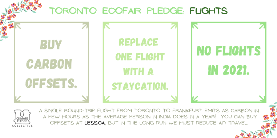 EcoFair pledge flights 2